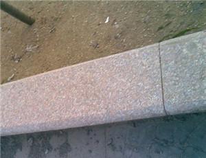 10公分五莲红路沿石